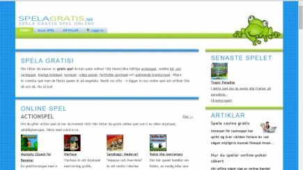 Spelagratis.se är lanserad